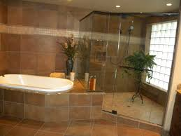 shower tub tile ideas surrounded full tile wall decor frosted
