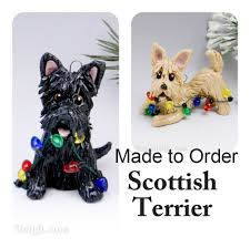 scottish terrier ornaments rainforest islands ferry