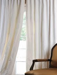 White Taffeta Curtains Houston Design Blog Material Girls Houston Interior Design