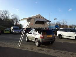land rover discovery camping ventura deluxe 1 4 car roof top tent camping expedition 4x4 land