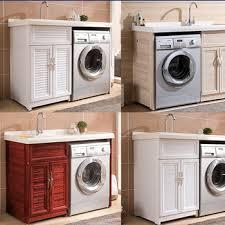 Laundry Sink Cabinet 2017 New Modern Aluminum Laundry Sink Cabinet For Washing Machine