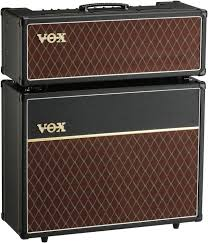 Vox Ac30 Stack 30 Watt Tube Head With Matching 2x12 Cabinet