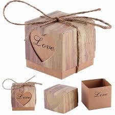 walmart wedding favors meigar 50 100pcs lover words wedding favors boxes 2x2x2inch