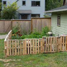 Small Backyard Fence Ideas Backyard Fence Ideas On A Budget Home Outdoor Decoration