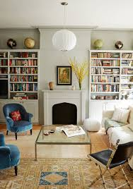 get the look an eclectic living room george nelson light