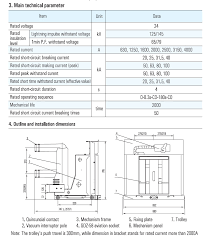 vs1 24kv vacuum circuit breakers