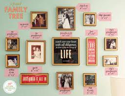 family tree of frames lay baby lay