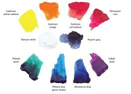 color mixing in acrylic sneak peek quarto creates
