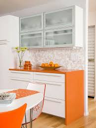 The  Best Orange Kitchen Ideas On Pinterest Orange Kitchen - Orange kitchen cabinets