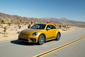 yellow volkswagen convertible 2017 volkswagen beetle dune revealed at la auto show available as