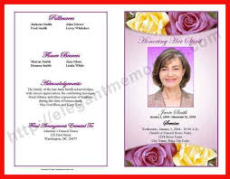 wording for funeral program obituary program exles apa exle