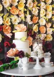 wedding backdrop tutorial diy flower wedding backdrop tutorial with crepe blooms backdrops