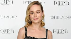 mary drysdale see brie larson u0027s glam column dress and chandelier earrings p
