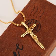 crucifix jewelry bangrui men gold color cross necklaces wholesale crucifix pendant