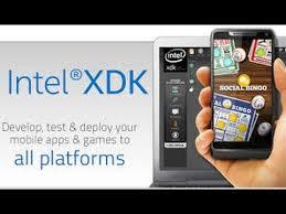 membuat aplikasi android dengan intel xdk tutorial membuat projek aplikasi dengan intel xdk youtube