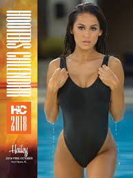 fort myers hooters appear in 2018 hooters calendar