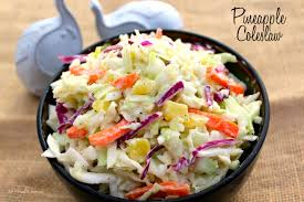 pineapple coleslaw the complete savorist