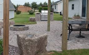 Patio Retaining Wall Pictures Portfolio R U0026d Landscape