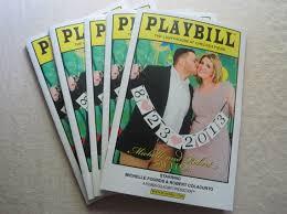 magazine wedding programs playbill wedding program items similar to playbill wedding program