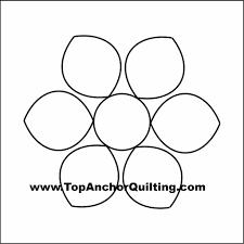 dahlia quilt templates u0026 patterns u2013 topanchor quilting tools
