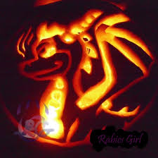 darkspyro spyro and skylanders forum fan art spyro pumpkin