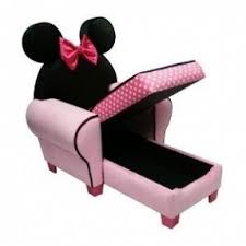 Minnie Mouse Toddler Chair Kids Chaise Lounge Chairs Foter