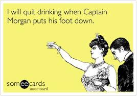 Captain Morgan Meme - i didn t text you my friend captain morgan did my sissy