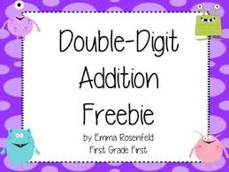 10 best two digit addition images on pinterest creative teaching