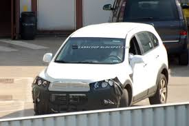 chevrolet captiva 2011 spy shots 2011 chevrolet holden captiva suv with aveo esque fascia