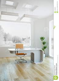 modern ceo office interior design interior design of modern office stock illustration image 19049918