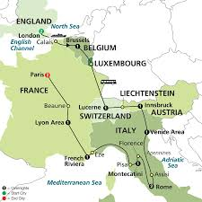 Assisi Italy Map by Wonders Of Europe 13 Nights 14 Days Combined Tour