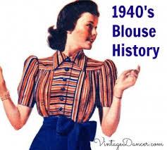 s blouse 1940s blouses button up crop t shirt peasant top history