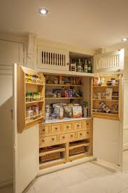 Clive Christian Kitchens Bespoke Hand Painted Clive Christian Kitchen Pantry Fridge And
