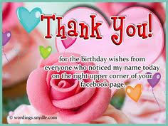 thank you so much dear friends for the birthday wishes thank you