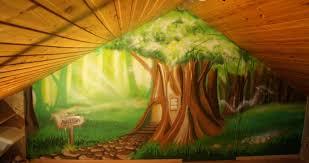fresque murale chambre bébé idées de thèmes pour une fresque murale de chambre d enfant