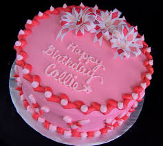 flower fondant cakes birthday cake pink flowers image inspiration of cake and
