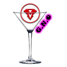 martini glass logo girls night out package men of steel male revue cleveland male