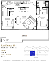 floor plan condo floor plans first and beach residences