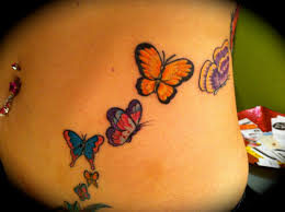 butterfly tattoos for on side 710 fitfru style butterfly