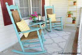 Rocking Chairs On Porch Staining Wicker Rocking Chairs Rocking Chairs Painted Rocking