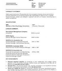 sle resume formats for experienced hr generalist resume template exle for human resources