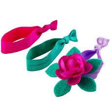 stretchy ribbon goody ouchless no metal elastics trolls 15 ct walmart