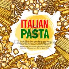 pasta spaghetti macaroni isolated sketch icons gl stock images