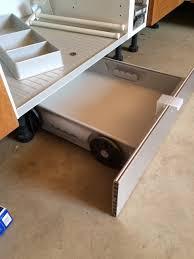 tiroir sous meuble cuisine kit tiroir de plinthe 600 mm 5a1 cuisinesr ngementsbains