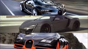 bugatti vs bugatti chiron vs lykan hyper sport vs bugatti sport amazing