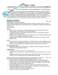 Best Engineer Resume by Cisco Engineer Resume Free Resume Example And Writing Download