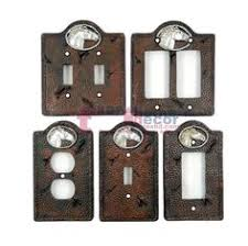 bear light switch covers black bear switch plate covers faux wood look cabin decor lodge