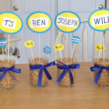banquet centerpieces blue and gold banquet award ideas blue and gold banquet ideas