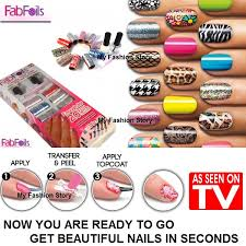 buy fab foils as seen on tv create your own professional salon