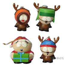 south park reindeer ornaments firebox